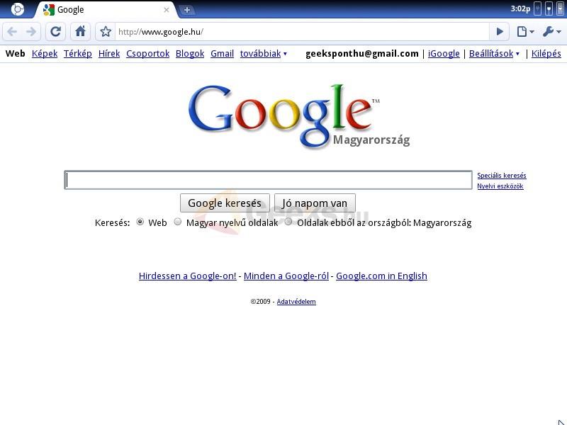 google fiók létrehozása