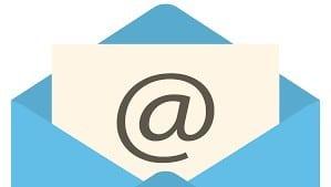 email regisztráció