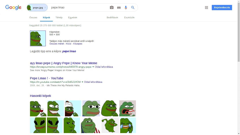 Google kép alapú keresés