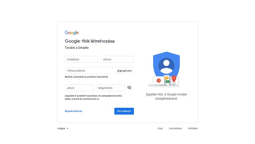 email szolgáltatók gmail