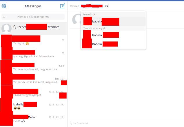 Messenger csoport létrehozása hogyan?