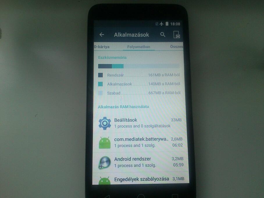 Alkalmazás törlése androidon