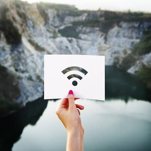 wifi sebesség jelerősség