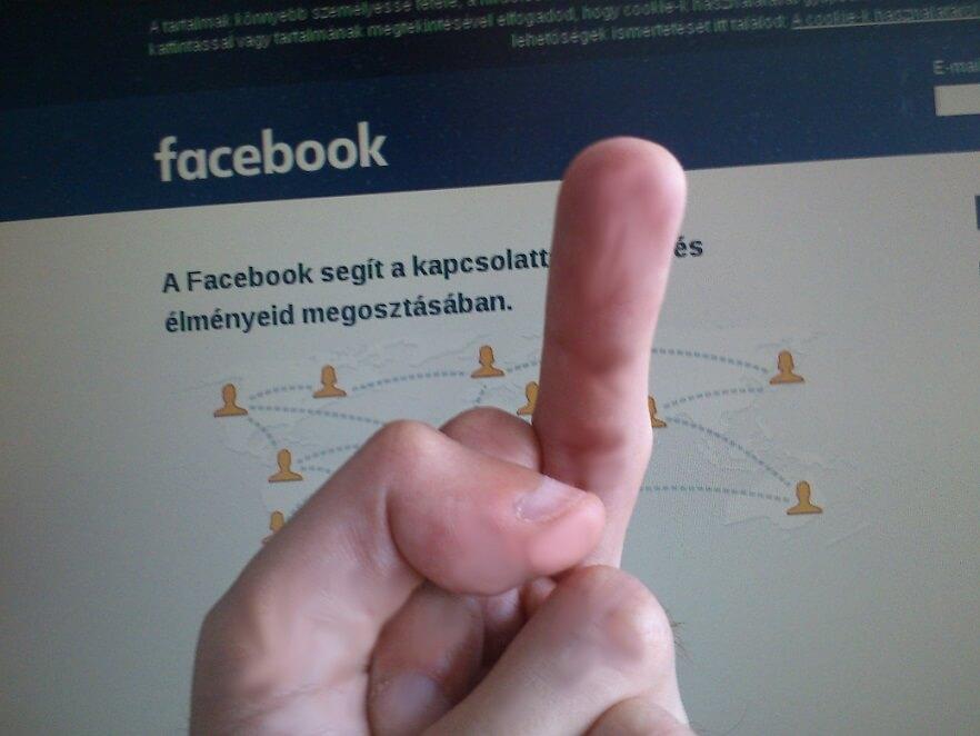 facebook fiók törlése