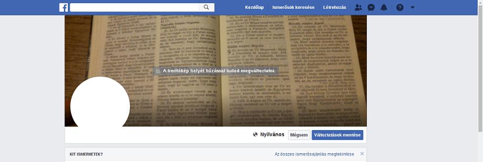 facebook borítókép mérete