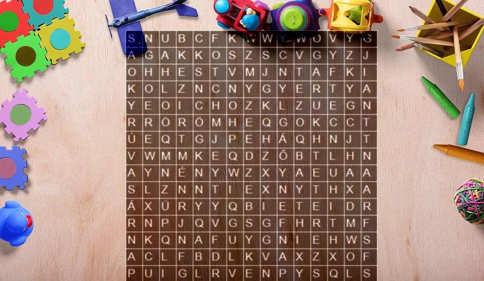 szókirakós betűkből interneten játékok